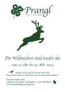 Wildwochen 2014